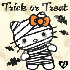 Resultado de imagen para hello kitty halloween - Tap the link now to see all of our cool cat collections! Hello Kitty Halloween Costume, Kawaii Halloween, Halloween Cat, Vintage Halloween, Happy Halloween, Hello Kitty Clothes, Hello Kitty Art, Hello Kitty Coloring, Hello Kitty Characters