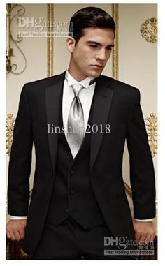 Wholesale Groom Tuxedos Best man Suit Wedding Groomsman/Men Suits Bridegroom, Free shipping, $114.24-132.16/Piece | DHgate