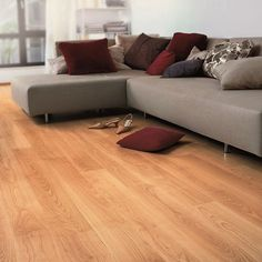 Laminate flooring is usually the ultimate answer to any unmanageable floor. Basically, depending in the design or the texture you select, laminate flooring will add […] Vinyl Wood Flooring, Wood Laminate, Laminate Flooring, Flooring Ideas, Quickstep Laminate, Quick Step Flooring, Hardwood Floor Colors, Flooring Shops, Faia