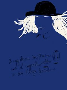 Cappotto e Cappello, Max Mara e Borsalino. #fashion #illustration by Open Toe.   http://opentoe.posterous.com/cappotto-e-cappello