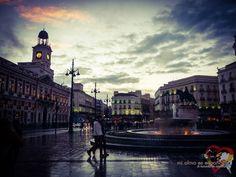 Plaza de la Puerta del Sol. Madrid, Spain.