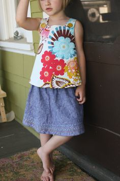 summer kcw :: sandpiper top, take two