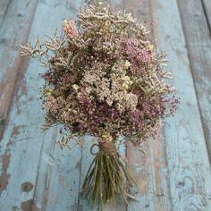 Summer Haze Dried Flower Bouquet by EnglishFlowerFarmer on Etsy