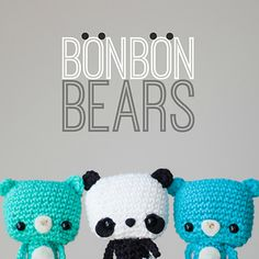 Ravelry: Bonbon Bears pattern by Stephanie Jessica Lau