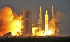NASA's Orion test flight