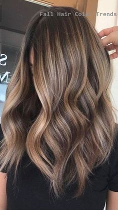 35 Hottest Fall Hair Colour Ideas For All Hair Types 2019 . 35 Hottest Fall Hair Colour Ideas For All Hair Types 2019 35 Hottest Fall Hair Colour Ideas for All Hair Types 2019 hair colour - HairStyles Ombre Hair Color, Hair Color Balayage, Brown Hair Colour, Haircolor, Soft Balayage, Blonde Balayage, Natural Hair Styles, Short Hair Styles, Natural Hair Colour