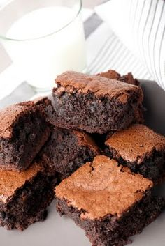 Garbanzo Beans Brownies- 1 1/2 cups Ghiardelli chocolate chips (They're gluten-free.)
