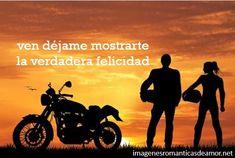 Imágenes de amor pero en motos