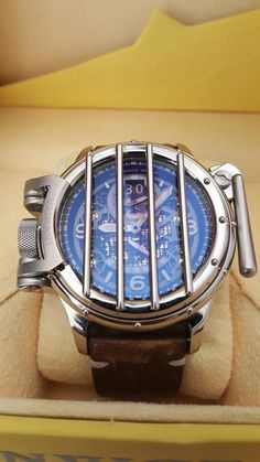 Invicta 20254 Vintage (Russian Diver, Nautilus) Leather, Cage Swiss Made Watch   eBay