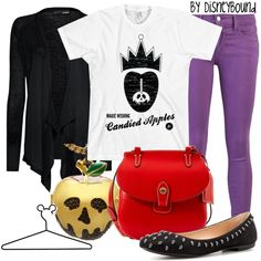 Evil Queen, created by lalakay on Polyvore #disney