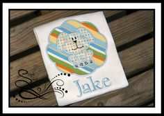 Puppy Dog Patch Applique with Free Monogramming by AprylEatman on Etsy