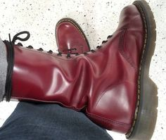 Dr. Martens, Dr Martens Boots, Dm Boots, Combat Boots, Skinhead Boots, Butches, Cherry Red, British Style, Fashion Shoot