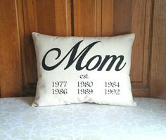 Mom established complete stuffed pillow  Gifts for Mom