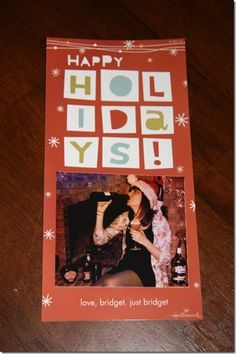 Single Woman Makes Christmas Cards Mocking Her Own Relationship Status (5 years)