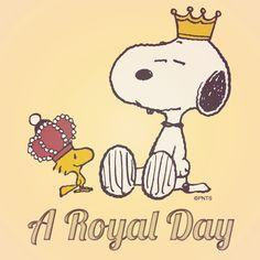 ✿ڿڰۣ♥ nyRockPhotoGirl •♥• Snoopy •♥• ✿⊱•♥#Peanuts A Royal Day