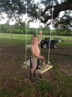 Saddle swing!