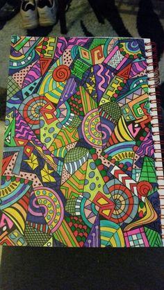 Het enige echte kleurboek op reis. Gemaakt door Heleen Beentjes.