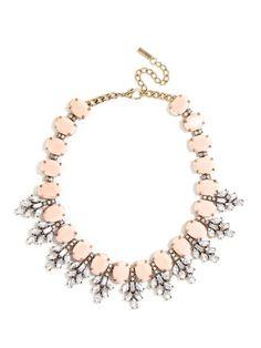 Crystal Conifer Collar Necklace | BaubleBar