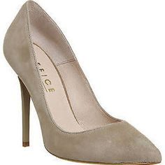 suede high heel court shoes - Google Search