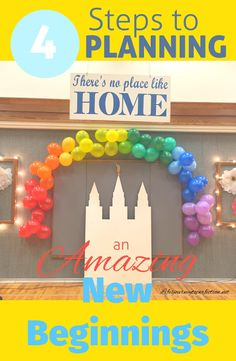 Four Steps to Planning an Amazing New Beginnings: Centered Around the 2016 Mutual Theme Press Forward