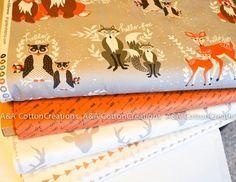 Hellow Bear Fabric, Designer Cotton Bundle of 4 from Art Gallery Fabrics, Buck Mist Fabric, Grey Fabric, Arrow Fabric, Quilting Fabric, Fabric Yarn, Quilting Fabric, Grey Fabric, Arrow Fabric, Art Gallery Fabrics, Photo Lighting, Mists, Fabric Design, Swatch