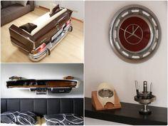 die besten 25 m bel aus autoteilen ideen auf pinterest autoteile deko auto m bel und. Black Bedroom Furniture Sets. Home Design Ideas
