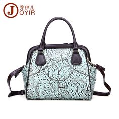 101.70$  Buy here - http://aizli.worlditems.win/all/product.php?id=32798624433 - New style Retro Real Cow Leather Ladies Handbags Genuine Leather Embossed women messenger bags Fashion mini big Shell bag