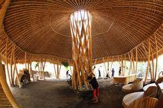 Bali Green school classroom.