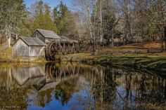 Mabry's Mill - nehall - Mabry's Mill on the Blue Ridge Parkway at Meadows of Dan VA. -  http://ift.tt/2ff1MKj IFtemppicpinned in Building blocksdownld in ios #November 7 2016 at 07:25AM#via IF