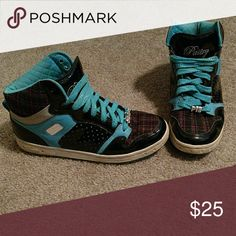 Pastry hi top shoes Good condition pastry Shoes Sneakers