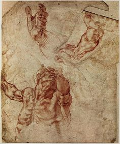 Figure Drawing, Michelangelo, Figure Studies, Photo