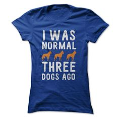 What does normal really mean, anyway? Some might say that normal stops at having more than 2 dogs, and others, well... it's more like having more than 5 canine friends. To each his own! Are you a prou