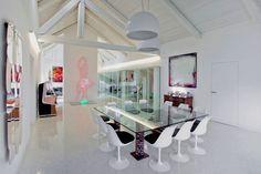 Classy Interiors of the Villa Benvenuti in Rivarolo Canavese, Italy | Home Design Lover
