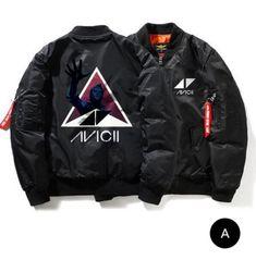 4a63f33aeabd Bomber Jacket Winter, Bomber Jacket Men, Black Zip Ups, Winter Quilts,  Avicii, Winter Wear, Plus Size Outfits, Dj, Hoodie