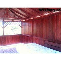Foisor rustic dreptunghiular Mangalia Garage Doors, Outdoor Decor, Room, Furniture, Home Decor, Italia, Bedroom, Decoration Home, Room Decor