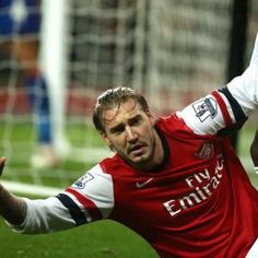 Arsenal manager Arsene Wenger maintained he had never given up on Nicklas Bendtner after the Denmark striker netted a late goal to help beat managerless Cardiff 2-0 at the Emirates Stadium, but is now set to be sidelined for few weeks with an ankle injury. - #Football #Soccer #AFC #Arsenal #Bendtner #Wenger #EPL #PremierLeague