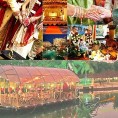 Looking for extra-ordinary wedding celebration??? Elegant Events & Weddings offering you the best option as #Backwaters #Wedding #Kerala . Have a look & contact us now :