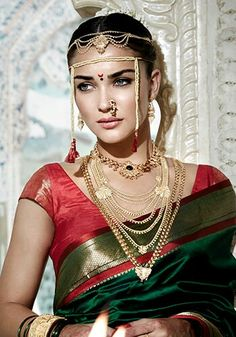 Perfect maharashtrian bride !!
