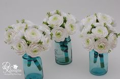 aqua colored flowers | Day 4: An Ode to Lacy Marie Hansen and her Design Aesthetic | WEALTH ...