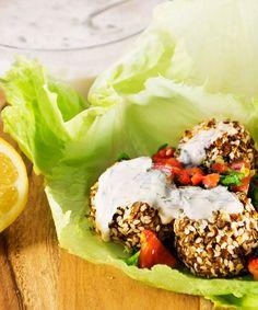 Vegan Gluten-Free Falafel Wraps - Veganos Brasil
