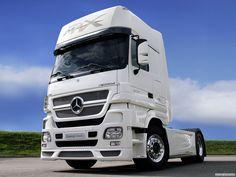 Mercedes Truck Mercedes benz actross v8 16