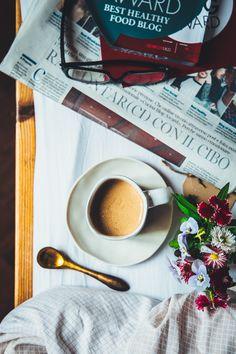 Cappuccino superfood + un paio di belle notizie // Maca + reishi superfood cappuccino - Naturalmente buono