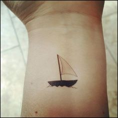 ... Sailboat Tattoos on Pinterest | Tattoos, Boat Tattoos and Ship Tattoos