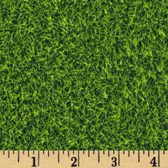 Sports Life Grass Turf Grass from @fabricdotcom  Designed by Studio RK for Robert Kaufman Fabrics, this cotton print is perfect for quilting, apparel and home decor accents. Colors include shades of green.