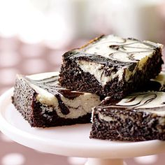 Peppermint Cheesecake Brownies | MyRecipes.com