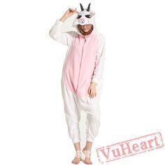 Adult Pink Sheep Onesie Pajamas / Costumes for Women & Men