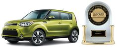 """Kia Soul — """"Highest Ranked Compact Multi-Purpose Vehicle in Initial Quality"""" by J.D. Power http://www.newroads.ca/blog/"""