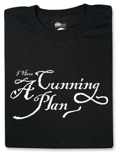 ThinkGeek :: I Have a Cunning Plan...It's hard to find Black Adder references here!