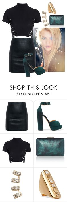 """December 7th"" by charlotteh2001 ❤ liked on Polyvore featuring McQ by Alexander McQueen, Charlotte Olympia, Glamorous, Jules Smith and Elizabeth and James"
