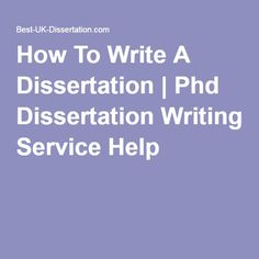 Dissertation writing services usa uk